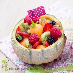 Salade de fruits au melon