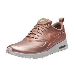 NIKE+Low+top+women's+sneaker+Lace+closure+AIR+MAX+THEA+Minimalist+synthetic+leather+upper+Visible+Max+Air+unit+for+classic,+lightweight+cushioning+Buffed,+lightweight+Phylon+and+traditional+rubber+outsole+for+traction
