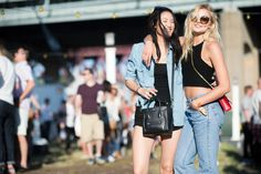 ELLE.com photographer Tyler Joe captures the best street style from Governors Ball, a.k.a. the East Coast's Coachella.