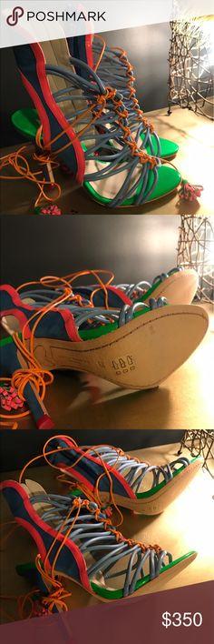 Sophia Webster high heels sandals size 6 Brand new never worn size 36-6 Sophia Webster Shoes Sandals