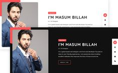 Bissas - Personal Portfolio Website Template Wordpress Landing Page, Personal Resume, Grid System, Personal Portfolio, Business Education, Professional Website, Landing Page Design, Social Media Icons, Portfolio Website