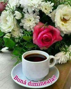 Bună Dimineața Poze Cu Cafea Si Flori