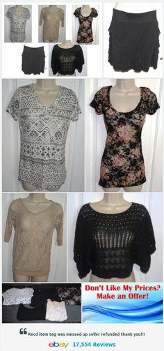 Shirt Tops Skirt Junior Small Sz Women's Lot of 5 Pc Tops Blouses TShirts ECU SB   eBay https://www.ebay.com/itm/352193093423