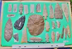 pictures of indian artifacts | Native American Indian Arrowheads, Artifacts, and Stone Tools from ...