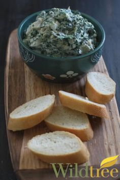 Wildtree's Slow Cooker Spinach & Artichoke Dip Recipe http://mywildtree.com/jillbuck