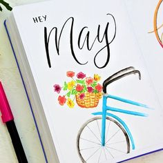 Hey May ;). I'm getting set up for May early this month. Click the link in my bio and get this as a free printable! #bulletjournal #bulletjournaling #bulletjournaljunkies #bujojunkies #bulletjournalcommunity #bujolove #showmeyourplanner #bulletjournallove #bujoinspire #planner #planning #planneraddict #bujo #plannernerd #handlettered #handlettering #calligraphy #planwithme #leuchtturm1917 #plannerstickers #plannerjunkie #plannergoodies