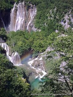 Wasserfall in Plitvice by Alix Mordant, via Flickr