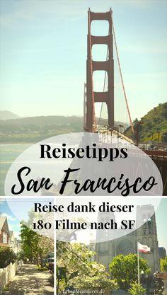 Zu den besten San Francisco Reisetipps zählt es, die Stadt mit Filmen zu bereisen und kennenzulernen. Genau deshalb stelle ich dir in diesem Artikel 180 San Francisco Filme vor.