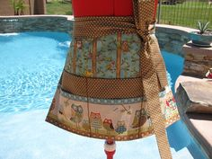 Owl Wonderful Sassy Apron  Vendor Utility Gardening  by sassyapron
