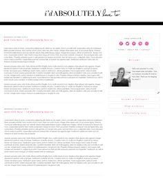 Custom blog design by Smitten Blog Designs #customblogdesign #blogdesign #smittenblogdesigns