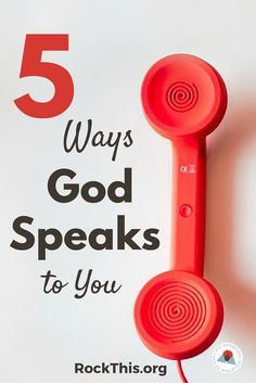 Do we really believe that God speaks to us in this day and age? What if He does, but we're missing it? Here are 5 real ways to begin hearing Him again.