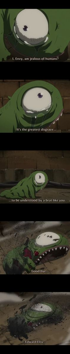 the first time i cried over a villain's death || Envy || Fullmetal Alchemist Brotherhood