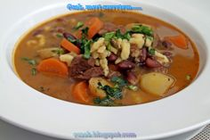 Croatian Recipes, Hungarian Recipes, Goulash Soup, Stew, Pot Roast, Thai Red Curry, Dishes, Baking, Ethnic Recipes