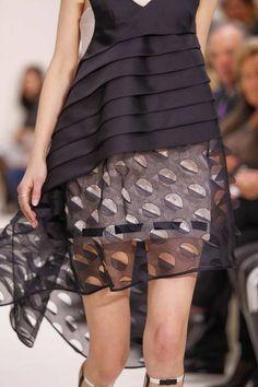Christian Dior  - Detail - Haute Couture Spring / Summer 2014. #dress #dior #stylecom