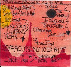 Syracuse NY GD 10-20-1984 (set II)- J.Blueberries