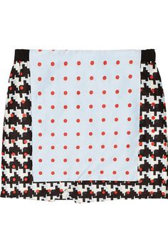 Shop now: Thakoon Addition Printed Skirt