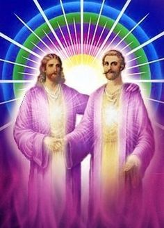 Saint Germain and Jesus Christ