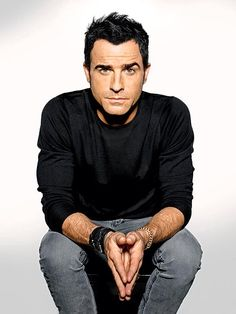 Justin Theroux. Just cool. Been watching him in The Leftovers and I must say I can totally see what Jen sees in him! ;)