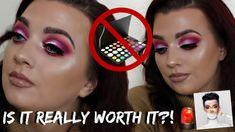 Morphe Eyeshadow Palette, Concealer, Halloween Face Makeup