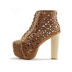 Jeffrey Campbell Shoes | Jeffrey Campbell Lita Daisy Tan