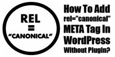 """Do You Want To Keep Your WordPress Blog Our Of SEO Attack Range And Duplicate Content error Then You Must Have To Use Canonical Tag. Know Here About To Add rel=""""canonical"""" META Tag In WordPress Without Plugin?  Article: www.exeideas.com/2015/02/add-rel-canonical-meta-tag-in-wordpress.html Tags: #WordPress #WordPressTips #WordPressTricks #WordPressCodes #WordPressSEO, #SEO, #CononicalURL"""