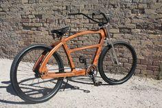 Wooden bike... wow
