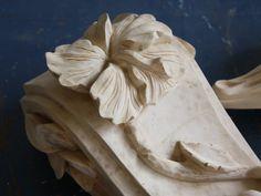 Bloß Holz  Kragstein Hibiskus Console