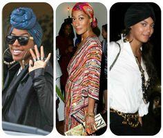 Celeb coverings!