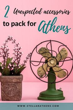 2 unexpected items to pack for Athens & Greece - Stellar Athens Sun Umbrella, Athens Greece, Packing Light, Make It Through, Packing Tips, Greece Travel, Travel Style, Traveling By Yourself, Fun Facts