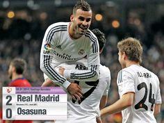 Full Time Real Madrid vs Osasuna Copa Del Rey
