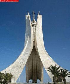 Emir Abdelkader Mosque in Constantine - Algeria