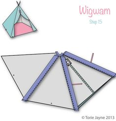 Wigwam Step 15 | Blogged at Torie Jayne.com Blog|Facebook|Tw… | toriejayne | Flickr