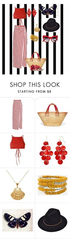 """Stripe skirt"" by stina715 on Polyvore featuring Forum, Balenciaga, Ack, Ottoman Hands, Dolce&Gabbana, skirt and stripes"