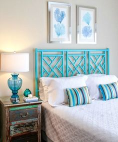 Creating a blissful coastal bedroom design can be a big task but with the right amount of island style you can pull it off. Here are a few bedroom design ideas to consider: