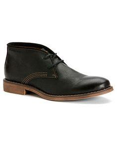 Calvin Klein Jeans Men's Shoes, Orrick Leather Chukka Boots