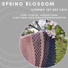 Spring Blossom, Ravelry, Pattern Design, Knitting Patterns, Crochet Hats, Knitting Hats, Knit Patterns, Knitting Stitch Patterns, Loom Knitting Patterns