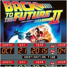 BACK TO FUTURE DAY! #BackToTheFuturePart2 #October21st2015 #WheresTheHoverBoardsTho #WheresTheFlyingCars? LoL #WhatAFutureItIs #WhatsTheMatterMcfly? #YouChicken? #NOBODYCALLSMECHICKEN