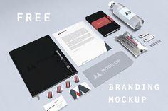 Free Branding Identity Mock-up
