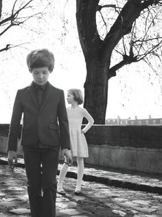 Baby Dior winter 2012 A film noir feel with a retro look boy's suit