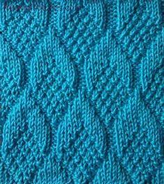 Beautiful teardrop stitch