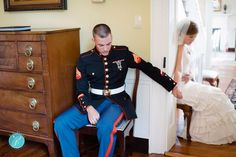 Breann and Josh Curtas came into the spotlight eight months after their wedding when this photo from the August, 2012 ceremony went viral.  Breann said the photo was taken when, in a spur-of-the-moment decision, her groom came to say a prayer with his future wife. They prayed hand-in-hand just around the corner from each other, to prevent the groom from seeing the bride until they met at the altar. Photo courtesy of K.d. Burke Photography
