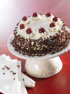 The famous Black Forest Cake (Schwarzwalder Kirschtorte)