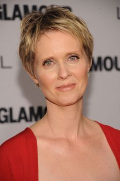 """""""Short hair is great for emphasizing your eyes and facial features,"""" Perez explains. """"Oval faces can pull off just about any look. Nice, short fringes show all your features so the haircut can be extra-short with volume on top.""""   - Redbook.com"""