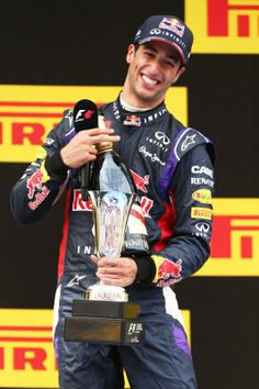 Daniel Ricciardo finishes 3rd @ the 2014 F1 Spanish Grand Prix