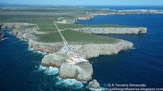 A Terceira Dimensão - Fotografia Aérea: Cabo de São Vicente