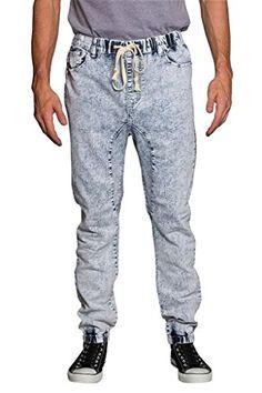 6780d640e027b6 Great for Victorious Victorious Mens Drop Crotch Jogger Denim Pants JG803 Mens  Jeans. [$30.95