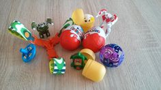 Kinder Surprise Eggs Unboxing #12 Ü-Ei öffnen 2015