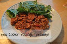 Slow Cooker Sausage Jambalaya