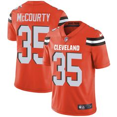 Youth Nike Cleveland Browns #35 Jason McCourty Orange Alternate Vapor Untouchable Limited Player NFL Jersey