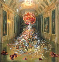 Julie Heffernan, 1956 ~ Magical Realism | Tutt'Art@ | Pittura * Scultura * Poesia * Musica |